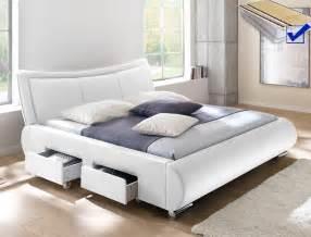 bett 180x200 mit matratze und lattenrost polsterbett lando bett 180x200 cm wei 223 mit lattenrost und
