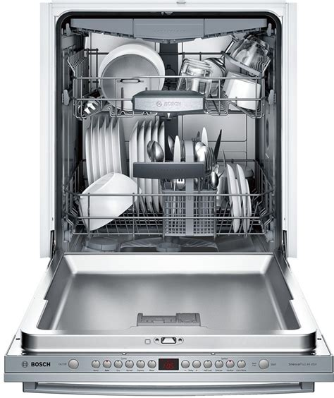 Three Rack Dishwasher by Bosch Sgx68u55uc Fully Integrated Dishwasher With 15 Place