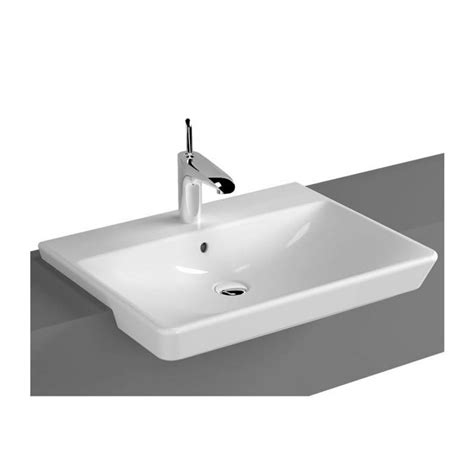 Bath Shower Mixer Tap vitra t4 semi recessed basin uk bathrooms