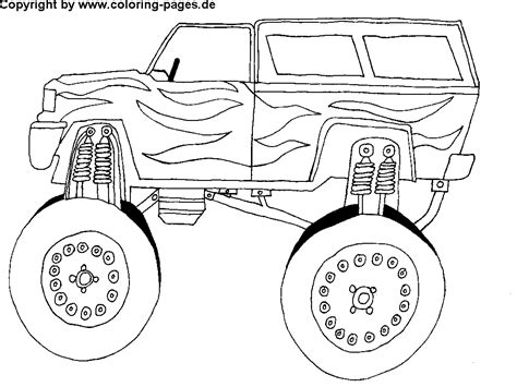 big car coloring page a race track coloring pages