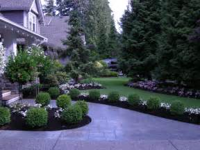 front yard drive way landscaping http lomets com