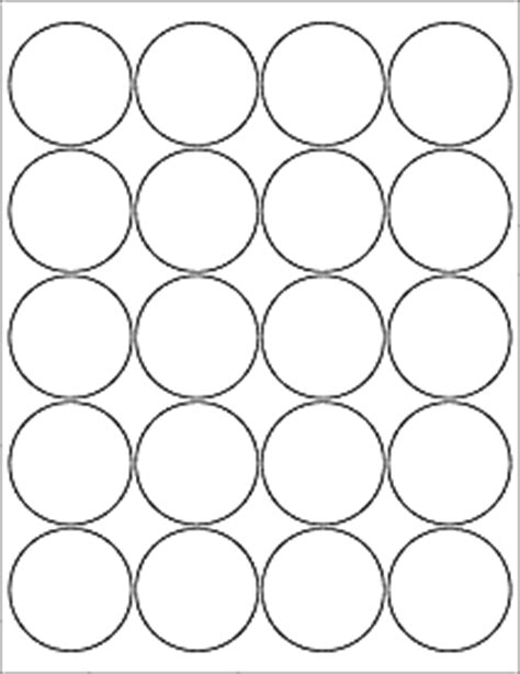 2 circle label template label templates ol5375 2 quot circle labels