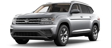 vw atlas exterior paint color options
