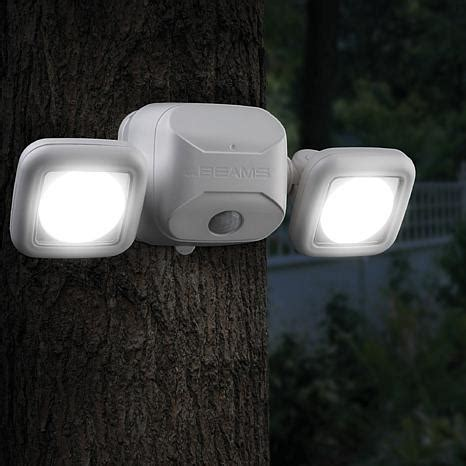 ritelitetm wireless four head battery operated led under cabinet lights mr beams wireless led motion sensor security light