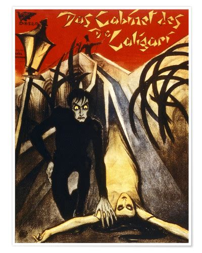 Cabinet Of Dr Caligari Poster by The Cabinet Of Dr Caligari Poster Posterlounge