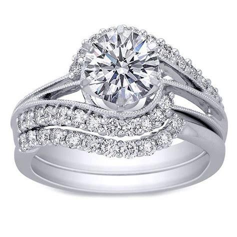 the 25 best interlocking wedding rings ideas on