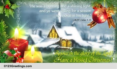 blessed christmas  religious blessings ecards