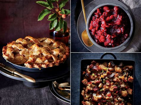 cooking light thanksgiving dinner the fruit trio you should feature at your thanksgiving