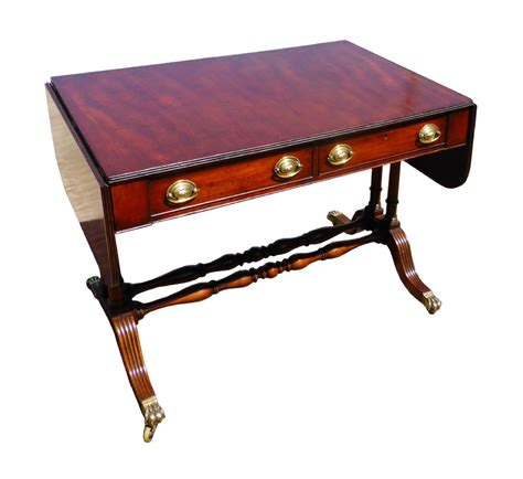 Regency Mahogany Sofa Table 356574 Sellingantiques Co Uk Sofa Table Uk