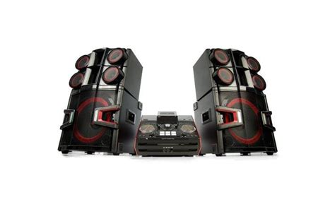 lg cm  ch hifi dj system  dual subwoofers