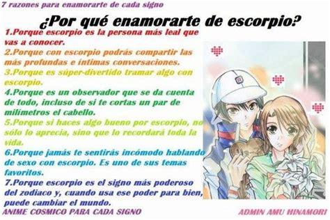 O Anime De Cada Signo by Anime C 243 Smico Para Cada Signo Escorpi 243 Anime Y Signos