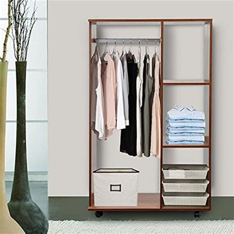 Open Wardrobes by Open Front Wardrobe Walnut Ideal Home Show Shop