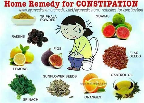 home remedies for constipation health