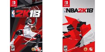 Nintendo switch getting all versions of nba 2k18 and same