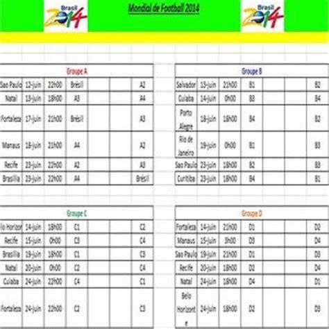 Calendrier Coupe Du Monde 2014 Excel T 233 L 233 Charger Calendrier Coupe Du Monde 2014 Pour Windows