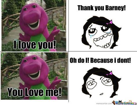 Barney Meme - barney s love song by mikey12 meme center