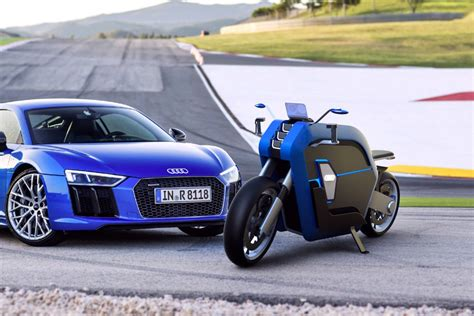 Audi Is Made Where if audi made motorcycles yanko design
