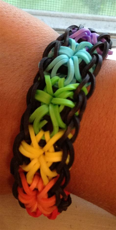 Cool Things To Make With Rubber Bands And Paper - 8 best images about rubber band braclets on