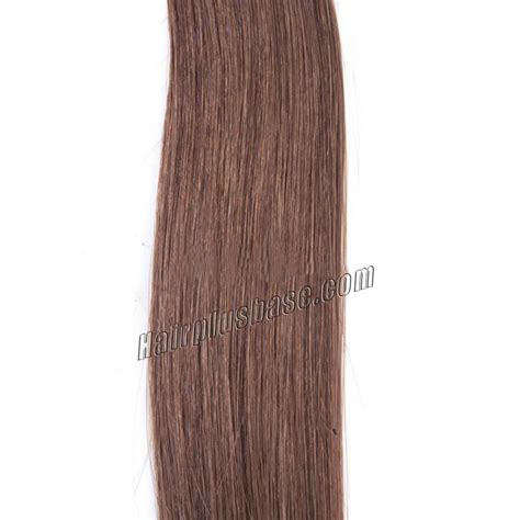 Light Brown Hair Extensions by 24 Inch 6 Light Brown Clip In Human Hair Extensions 10pcs