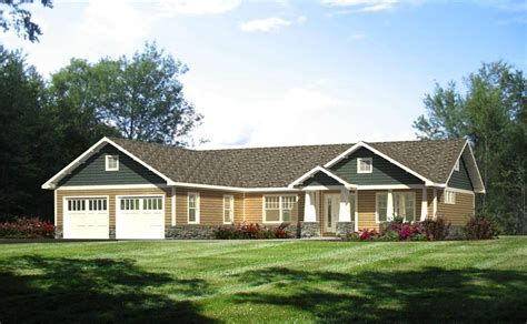 prefab craftsman style homes gorgeous custom ranch home plans pics design ideas dievoon