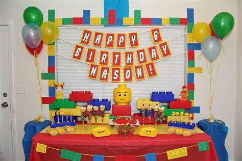 lego themed birthday decorations legos birthday ideas photo 1 of 25 catch my