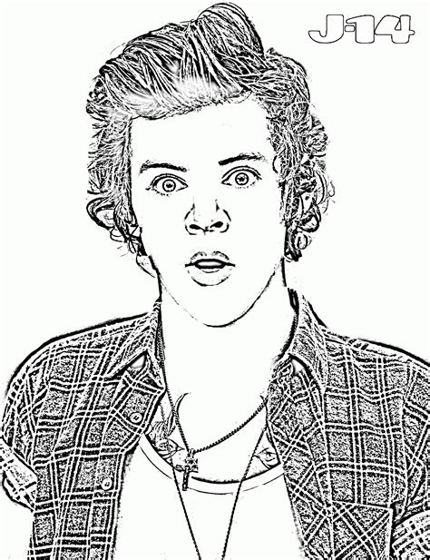 one direction coloring pages pdf 10 printable one direction coloring pages 10 j 14