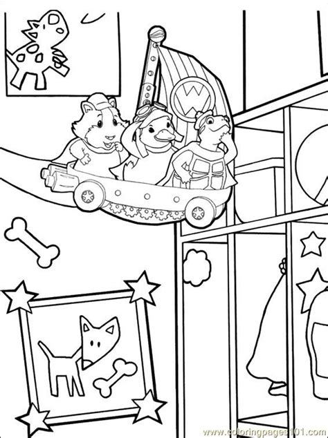 coloring pages wonder pets wonder pets 014 3 coloring page free the wonder pets