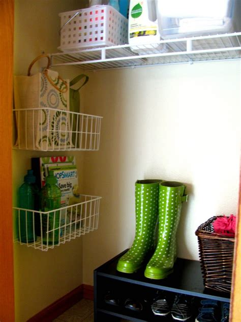 would be for the laundry closet storage