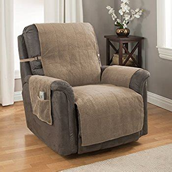 what is a slipcover com recliner chair cover one piece w armrests and