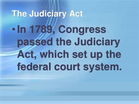 section 25 judiciary act social studies chapter 9 section 1 notes