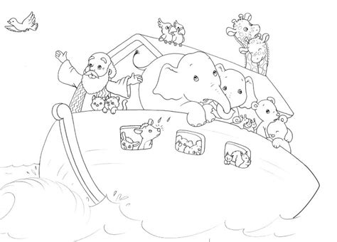 noah s ark coloring pages for toddlers free coloring pages of noah ark children