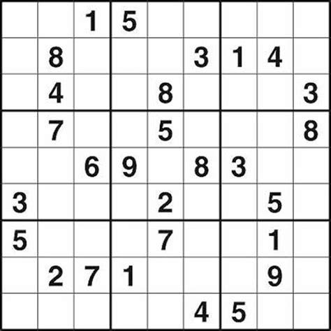 printable sudoku puzzles level 1 of 8 printable sudoku