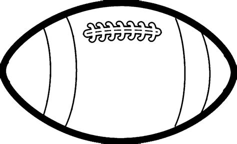 football drawing template large rugby football coloring page