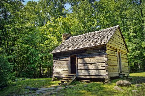 Cabin Of The Smokies by Cabin In The Smokies Photograph By Cricket Hackmann