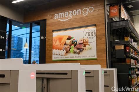 amazon go technology amazon go is finally a go sensor infused store opens to