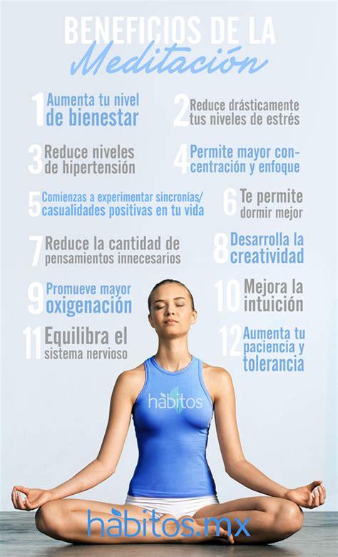 meditacin meditation la 8499081495 h 225 bitos health coaching 161 beneficios de la meditaci 243 n yoga salud health and