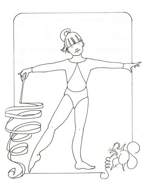 coloring pages gymnastics free gymnastics color pages coloring home