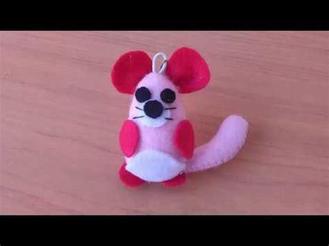 membuat gantungan kunci you tube tutorial cara membuat gantungan kunci flanel bentuk tikus