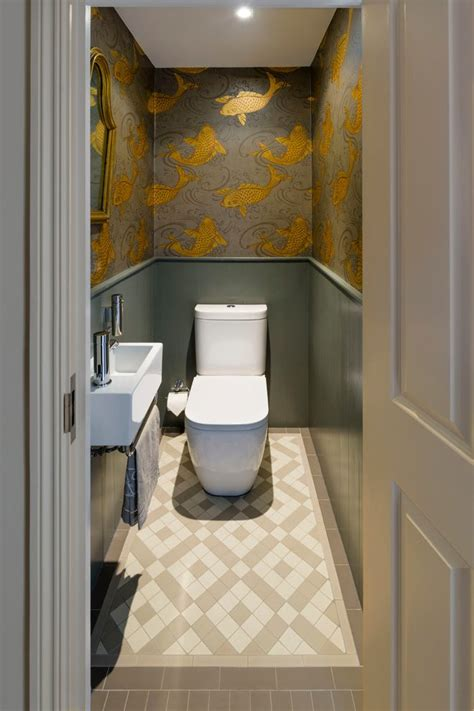 small bathrooms come alive with these 20 stylish wallpaper for small powder room hd wallpapers blog