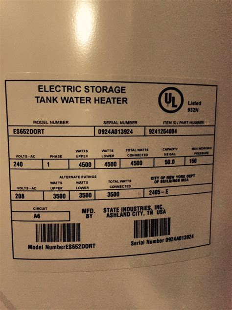 state select water heater age of your water heater displayed by brand
