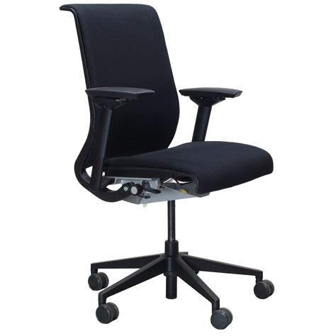 Steelcase Chairs by Steelcase Think Used Task Chair Black National Office