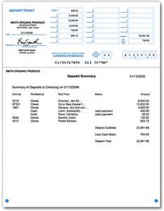 quickbooks deposit slip template printable deposit slips 1 part qbbob