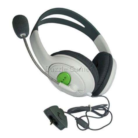 Headset Xbox 360 headset w mic microphone for xbox360 xbox 360 live ebay