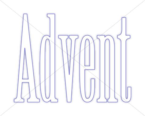 blue outline simple advent advent clipart