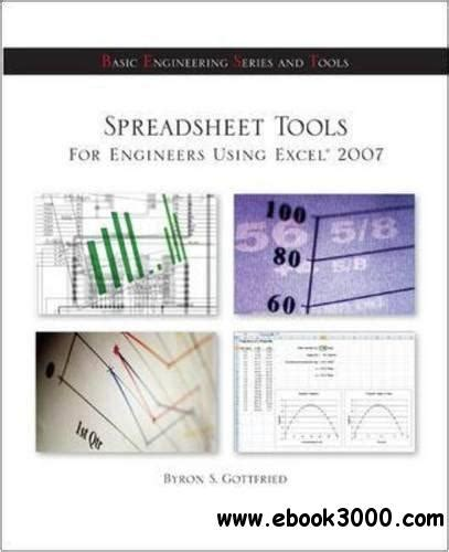 Spreadsheet Tools For Engineers Using Excel 2007 Pdf spreadsheet tools for engineers using excel 2007 free