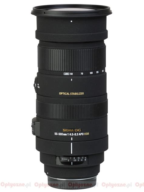 Sigma 50 500mm Os Hsm Ex Sigma 50 500 Mm F 4 5 6 3 Apo Dg Os Hsm Review Introduction Lenstip