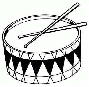drum coloring page toy drum free printable coloring pages