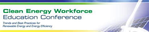 themes for education conferences exhibitors clean energy workforce education conference