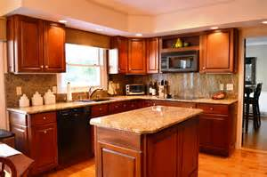 kitchen color ideas with cherry cabinets kitchen celebrations kitchen cabinet fabulous natural cherry kitchen cabinets design 109