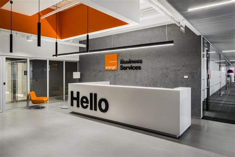 Minimalist Workspace Orange Business Services Offices Moscow Office Snapshots
